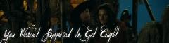 """You weren't supposed to get caught - транскрипция удаленных сцен из """"Пираты Карибского моря 3"""""""